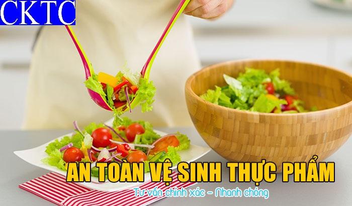 Giấy phép vệ sinh an toàn thực phẩm 1
