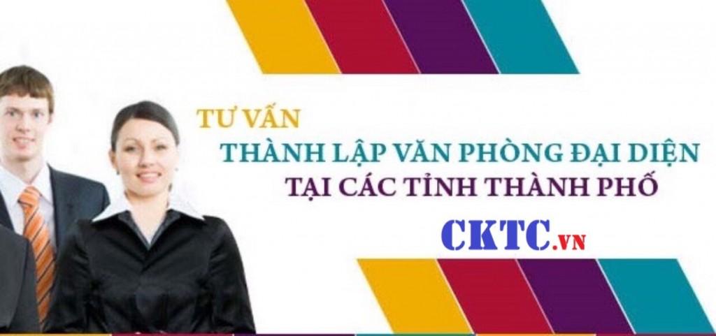 Thành lập văn phòng đại diện công ty TNHH một thành viên