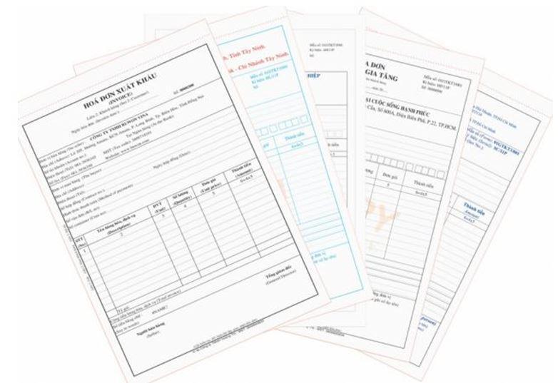 Dịch vụ in hóa đơn đỏ