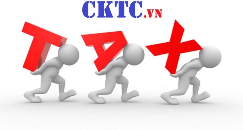 Các loại thuế hộ kinh doanh phải đóng